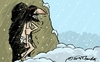 Cartoon: Resurrection of Christ (small) by Mandor tagged christ,resurrection,bad,weather