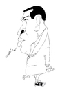 Cartoon: Chavez (small) by jaime ortega tagged chavez al reves venezuela