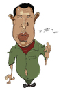 Cartoon: Hugo Chavez (small) by jaime ortega tagged hugo chavez venezuela