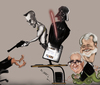 Cartoon: Lo que vemos en la web... (small) by jaime ortega tagged taxi,driver,darth,vader,martin,scorcese,george,lucas