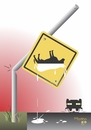 Cartoon: drink (small) by Tonho tagged if,accident