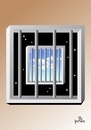 Cartoon: No way out arrested on the same (small) by Tonho tagged prision,ideas,arrested