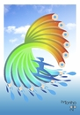Cartoon: surf (small) by Tonho tagged pencil,surf