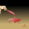 Cartoon: Violence (small) by Tonho tagged violence,blood,drop,brazil,world,death
