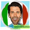 Cartoon: Gianluigi Buffon (small) by funny-celebs tagged gianluigibuffon,goalkeeper,football,soccer,goal,sport