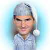 Cartoon: Roger Federer (small) by funny-celebs tagged roger,federer,tennis,player,atp,grand,slam,champion,mirka,basel,switzerland