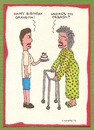 Cartoon: Where s My Orgasm? (small) by TIMMERS tagged grandma,orgasm,birthday