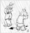 Cartoon: without words (small) by pyatikop tagged pyatikop,comics,without,words,drawing,on,order,cartoon,inwentors