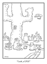 Cartoon: another look (small) by creative jones tagged ufo,alien
