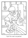 Cartoon: The Water Cartoon (small) by creative jones tagged water,purified,putrefied,runner
