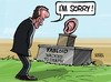 Cartoon: Hacked to death (small) by Satish Acharya tagged hackgate murdoch tabloid hacking