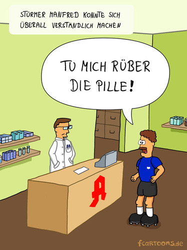 Apotheke De Fcartoons Sport Cartoon Toonpool