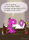 Cartoon: Gute Nacht Geschichte (small) by fcartoons tagged gute,nacht,geschichte,mama,mutter,kind,alien,lesen,cartoon,comic,fcartoons,licht,dunkel,umwelt,plastik,buch,bett,bed,book,environment,öko,read