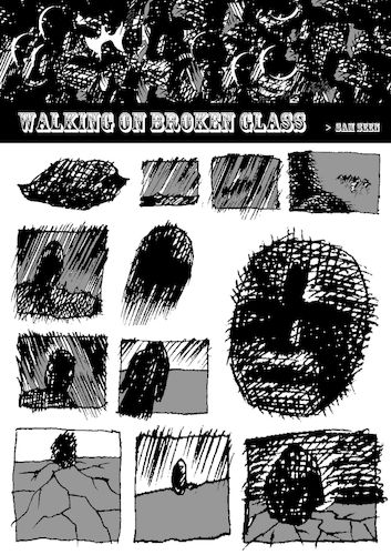 Cartoon: Walking on Broken Glass 1-6 page (medium) by sam seen tagged sam,seen,michael,jackson