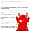 Cartoon: All News are Fake News! (small) by Rob tagged corona,virus,coronavirus,covid,19,33,devil,teufel,news,nachrichten