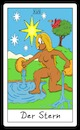 Cartoon: Der Stern (small) by Rob tagged tarot,card,cards,karte,karten,lemming,lemminge,stern,star
