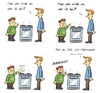 Cartoon: Guti (small) by Rob tagged gutmensch,gut,ofen,herd,stove,willkommen,welcome