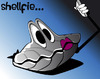 Cartoon: shellfie (small) by sharko tagged shell,selfie,shellfie