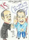 Cartoon: MUBARAK (small) by AHMEDSAMIRFARID tagged ahmed,samir,farid,egypt,mubarak,revolution,soulcartoon,caricature