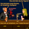 Cartoon: Bargespräche 13 - Berater (small) by PuzzleVisions tagged puzzlevisions,künstliche,intelligenz,artificial,intelligence,donald,trump