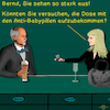 Cartoon: Bargespräche 18 (small) by PuzzleVisions tagged puzzlevisions,pillendose,contraceptives,pillbox,bar,talks,bargespräche