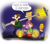 Cartoon: Martinstag (small) by Leopold tagged martinstag,martinday,familie,familiy,mutter,mother,vater,vather,laternen,lamp,sonne,sun,mond,moon,sterne,stars,blau,blue,dunkel,dark