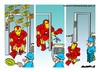 Cartoon: Security (small) by Amorim tagged security