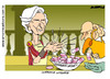 Cartoon: Washing Hands (small) by Amorim tagged christine,lagarde