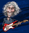 Cartoon: Albert Lee (small) by Ian Baker tagged albert,lee,guitar,rock,country,music,caricature,ian,baker,cartoon,hair,boy,hogans,heroes,eric,clapton,road,runner,hiding,setting,me,up,picking,fast,playing