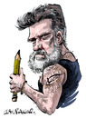 Cartoon: Lucido (small) by Ian Baker tagged lucido,lucido5,lucian,romania,cartoonist,caricatures,pencil,tattoo,toonpool
