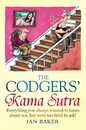 Cartoon: The Codgers Kama Sutra (small) by Ian Baker tagged kama sutra codgers codger sex old senior citizens guide book cover artwork cartoon ian baker stair lift humour comedy parody spoof constable and robinson