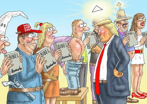 Cartoon: AMIS BRAUCHEN KEINEN JESUS (medium) by marian kamensky tagged obama,trump,präsidentenwahlen,usa,baba,vanga,republikaner,inauguration,demokraten,wikileaks,faschismus,jamal,khashoggi,shutdown,happy,new,year,2019,jeff,bezos,versus,amazon,obama,trump,präsidentenwahlen,usa,baba,vanga,republikaner,inauguration,demokraten,wikileaks,faschismus,jamal,khashoggi,shutdown,happy,new,year,2019,jeff,bezos,versus,amazon