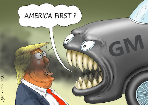 Cartoon: ANGRY GENERAL MOTORS (medium) by marian kamensky tagged obama,trump,präsidentenwahlen,usa,baba,vanga,republikaner,inauguration,demokraten,wikileaks,faschismus,jamal,khashoggi,angry,general,motors,obama,trump,präsidentenwahlen,usa,baba,vanga,republikaner,inauguration,demokraten,wikileaks,faschismus,jamal,khashoggi,angry,general,motors