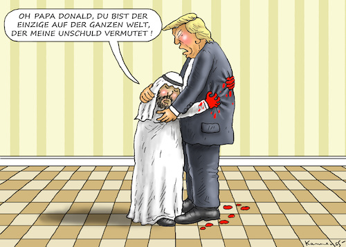Cartoon: DADDY DONNY (medium) by marian kamensky tagged obama,trump,präsidentenwahlen,usa,baba,vanga,republikaner,inauguration,demokraten,wikileaks,faschismus,jamal,khashoggi,obama,trump,präsidentenwahlen,usa,baba,vanga,republikaner,inauguration,demokraten,wikileaks,faschismus,jamal,khashoggi