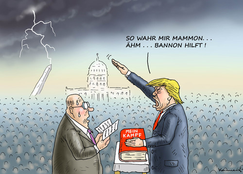 Cartoon: HURRA AMERIKA ICH GRATULIERE (medium) by marian kamensky tagged obama,trump,präsidentenwahlen,usa,baba,vanga,republikaner,demokraten,tv,duell,versus,clinton,faschismus,obama,trump,präsidentenwahlen,usa,baba,vanga,republikaner,demokraten,tv,duell,versus,clinton,faschismus