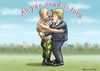 Cartoon: ALL YOU NEED IS LOVE (small) by marian kamensky tagged trump,erdogan,putin,populismus