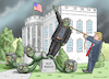Cartoon: BANNON HAS BEEN FIRED (small) by marian kamensky tagged obama,trump,präsidentenwahlen,usa,baba,vanga,republikaner,inauguration,demokraten,charlottesville,bannon,has,been,fired,wikileaks,faschismus