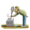 Cartoon: Bobeles Abschiedsliebesbuch (small) by marian kamensky tagged boris,becker,tennis,penis