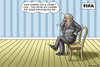 Cartoon: FIFA SPERRE FÜR BLATTER (small) by marian kamensky tagged fbi,und,blatter,fifa,fussbal,platini,korruption,rücktritt