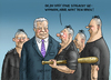 Cartoon: Gauck und die NPD Spinner (small) by marian kamensky tagged alternative,für,deutschland,rechtspopulismus,npd,bern,lucke,joachim,gauck,karlsruhe,urteil,spinner