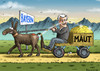 Cartoon: Horst haut die Maut (small) by marian kamensky tagged autobahnmaut,bayern,seehofer