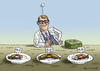 Cartoon: Maut von Dobrindt (small) by marian kamensky tagged autobahnmaut,dobrindt