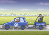 Cartoon: REAL TEST (small) by marian kamensky tagged volkswagen,usa,abgasmanipulation