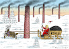 Cartoon: SANTA COAL TRUMP (small) by marian kamensky tagged obama,trump,präsidentenwahlen,usa,baba,vanga,republikaner,inauguration,demokraten,wikileaks,faschismus,jamal,khashoggi