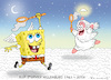 Cartoon: STEPHEN HILLENBURG (small) by marian kamensky tagged stephenstephen,hillenburg,spomgebob,bikini,botton,patrick,thaddeus,krabs
