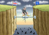 Cartoon: THERESA ALLEIN ZU HAUS (small) by marian kamensky tagged theresa,may,putin,sergei,skripal,novichok,russia,kgb,poison,attack,england,agents,brexit