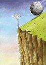 Cartoon: To be or not to be? (small) by marian kamensky tagged humor