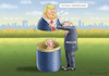 Cartoon: TOTALE ERFINDUNG (small) by marian kamensky tagged obama,trump,präsidentenwahlen,usa,baba,vanga,republikaner,inauguration,demokraten,wikileaks,faschismus
