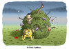 Cartoon: Vollintegrant Buschido Bambino (small) by marian kamensky tagged bushido,maffiaskandal,stern,musikindustrie,intergration