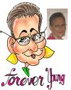 Cartoon: Forever Young (small) by kidcardona tagged caricature,cartoon